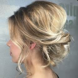 put up hair styles for thin hair 60 easy updo hairstyles for medium length hair in 2017