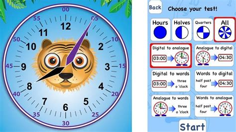 time app best telling time apps that teach children to tell