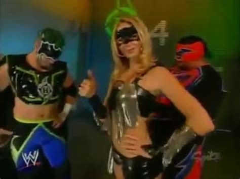 stacy keibler super stacy raw happy independence day from the hurricane rosey