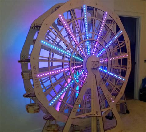 how to make a moving ferris wheel model search