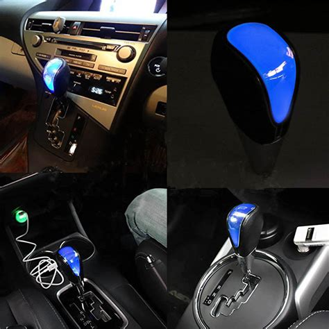 Lexus Gear Shift Knob by 2016 Touch Activated Led Blue Backlight Gear