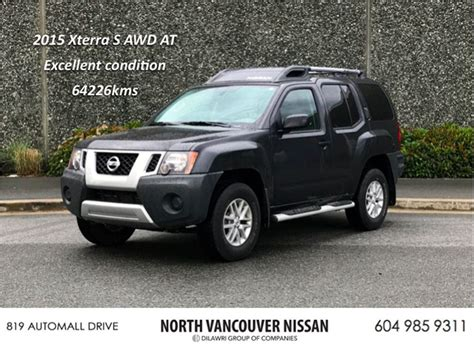used nissan xterra used 2015 nissan xterra s for sale northshore auto mall