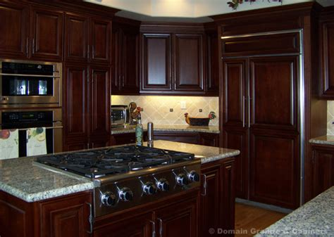 Mahogany Kitchen Cabinets by Kitchen Cabinet Installation And Replacement