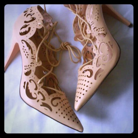 High Heels Laser Cl Hitam hp cl impera style laser cut heels from miss s closet on poshmark