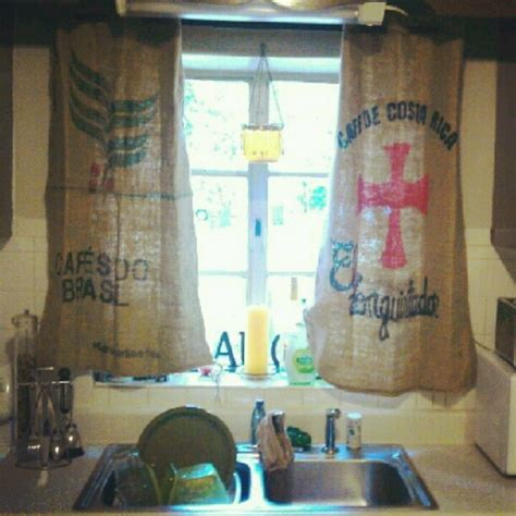 burlap coffee bag curtains 62 best feedsack burlap images on pinterest hessian