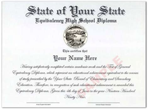 How To Get A Ged Certificate Helptionary Free Ged Template