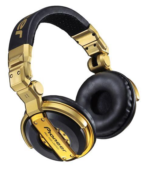 Headphone Hdj 1000 pioneer hdj1000 limited edition gold dj headphones pssl