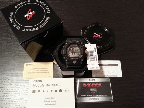 Casio G Shock Original Gw 9400 1dr rel 243 gio casio g shock rangeman gw9400 1dr original lata