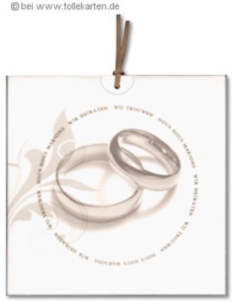 Eheringe Zweiteilig by Hochzeitskarte Mit Eheringen Einladungskarten