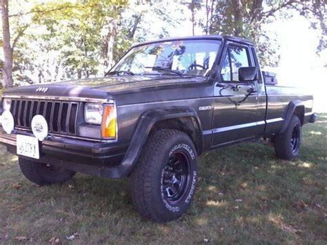 Jeep Comanche Tailgate For Sale Find Used 1986 Jeep Comanche X Standard Cab 2 Door