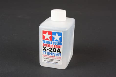 acrylic paint airbrush thinning tamiya america item 81040 acryl poly thinner x 20a 250ml