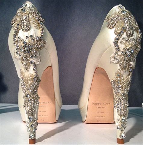 Amazing Wedding Shoes by These Amazing Wedding Shoes Took Our Breath Away