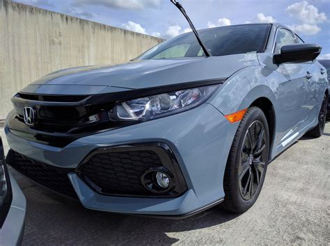 grey honda sonic grey pearl honda civic sport 2018 autos post