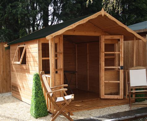 Best Price Sheds 10x8 10 X 8 Premier Wooden Garden Summerhouse 12mm Tongue And
