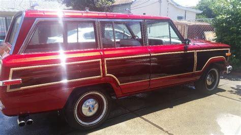 jeep grand wagoneer custom 1987 jeep grand wagoneer custom for sale