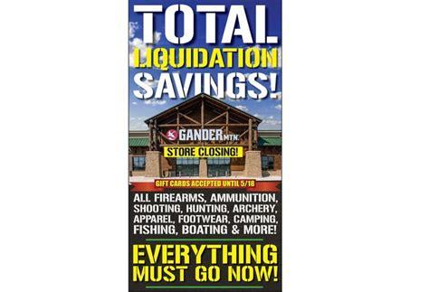 gander mountain indianapolis indiana gander mountain begins liquidation store closing sales