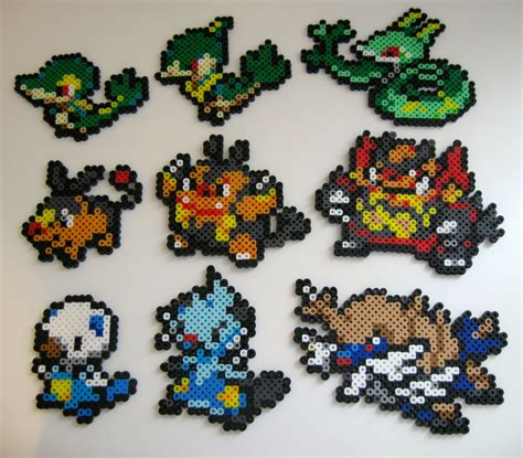 perler bead sprites perler bead sprites i choose you by plushlosophy