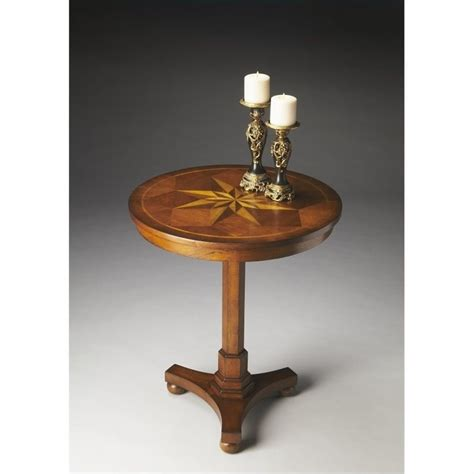 antique accent tables butler specialty masterpiece accent table in antique