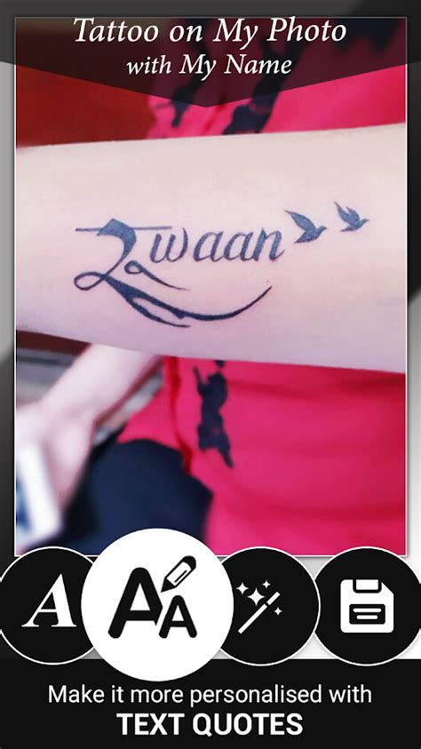 Tattoo Name On My Photo Editor | tattoo name on my photo editor android apps on google play