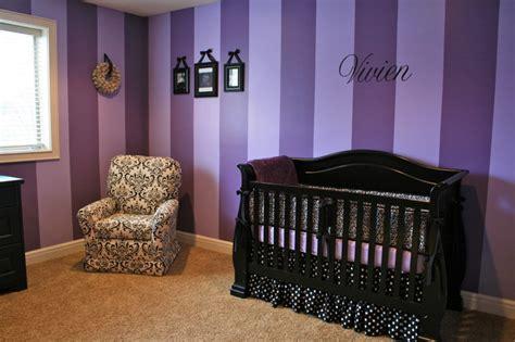 kinderzimmer ideen lila purple nursery modern salt lake city