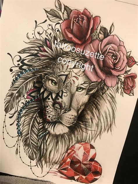 lion mandala tattoo best 25 ideas on leo tattoos