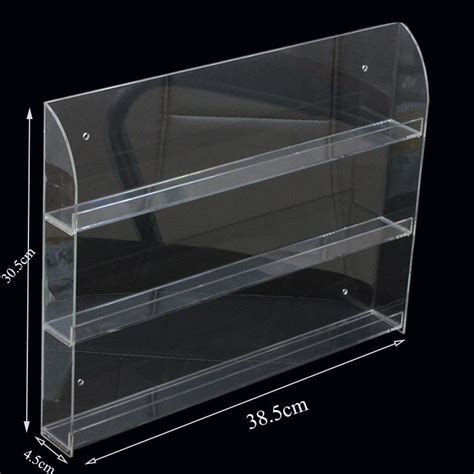 Plastic Nail Wall Rack by At Least 36 Bottles Acrylic Nail Display Rack 3