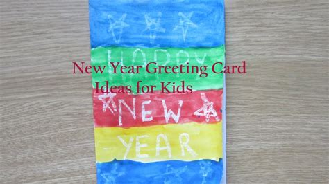 how to make new year cards at home new year greeting