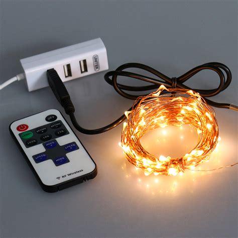 portfolio led string lights mini usb remote control string lights free sle is