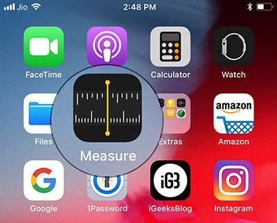 measure app  ios   iphone complete guide