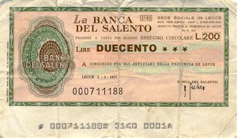 assegno d italia cambiale cos 232 e come funziona