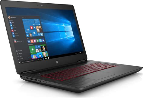 Hp Omen 17 An067tx I7 7700hq Geforce Gtx 1060 6gb Windows 10 hp omen 17 w203na i7 7700hq 8gb 1tb 128gb geforce gtx