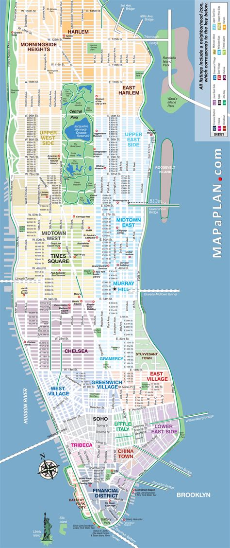 best map of new york city maps update 58022775 new york city map with tourist