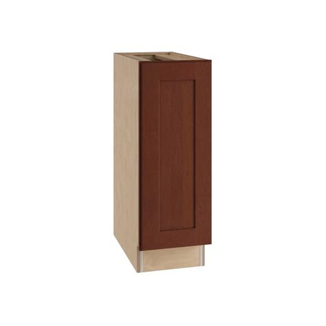 12x34 5x24 in base cabinet in unfinished oak b12ohd the assembled 12x34 5x24 in base kitchen cabinet in