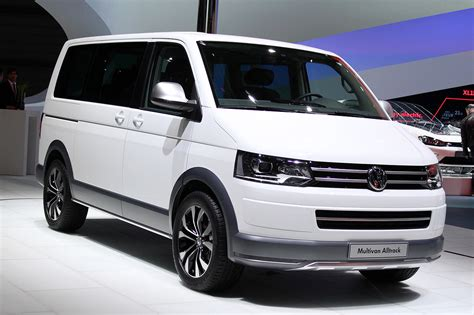 mini volkswagen volkswagen multivan alltrack geneva 2014 photo gallery