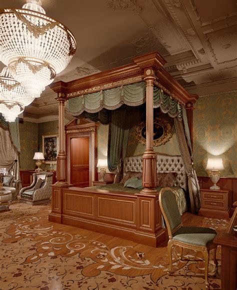 da letto lusso cheap letto a baldacchino con tessuti in broccato