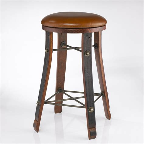 Wine Barrel Swivel Bar Stools by Wine Barrel Bar Stools Thetastingroomnyc