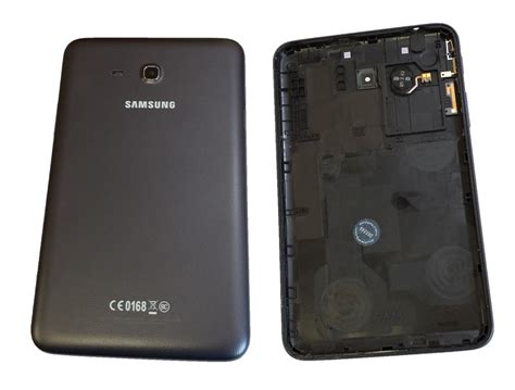 Samsung Tab 3 Sm T110 samsung galaxy tab 3 lite sm t110 back cover lid with speaker black skyline engineering inc