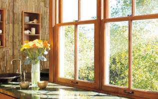 windows we a selection of wood and vinyl