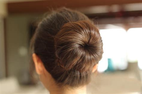 nice hairstyles buns easy classy donut bun hairstyles to create neat image
