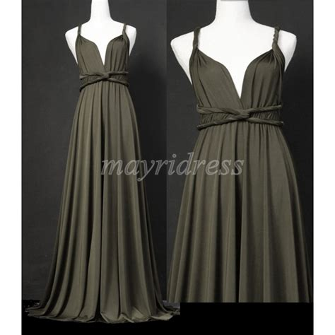 gray infinity dress gray length infinity dress wrap convertible