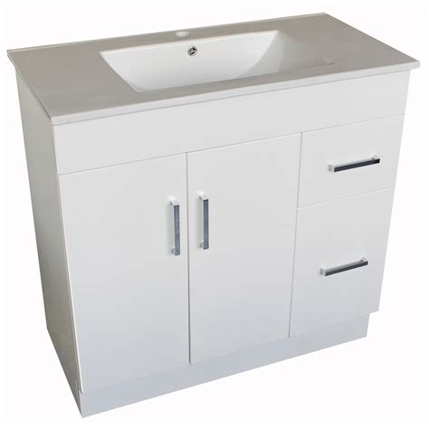 Sydney Vanity sydney vanity 750mm white bunnings warehouse