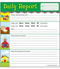 Daycare Report Card Template best 20 preschool daily report ideas on pinterest