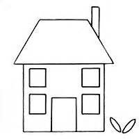 new home card template house pattern use the printable outline for crafts