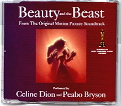 beauty and the beast mp3 download peabo bryson celine dion cd single at matt s cd singles