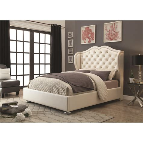 coaster upholstered bed upholstered beds for extra coziness in your bedroom