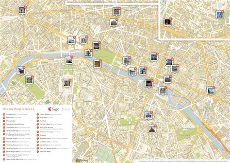 tourist attractions map printable tourist map sygic travel