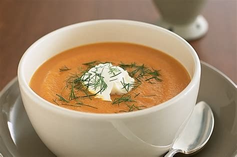 carrot and ginger soup carrot and ginger soup recipe taste com au