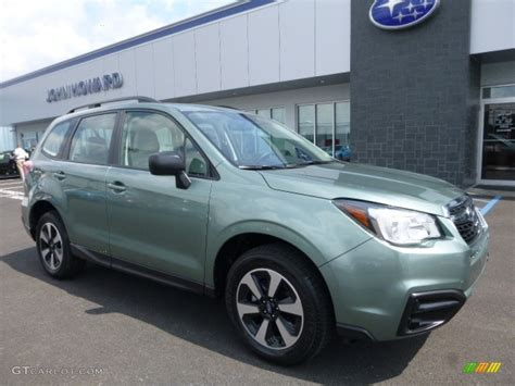 2017 Green Metallic Subaru Forester 2 5i