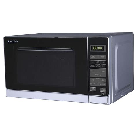Microwave Sharp R249in sharp 20l freestanding touch microwave silver r272slm d i d electrical