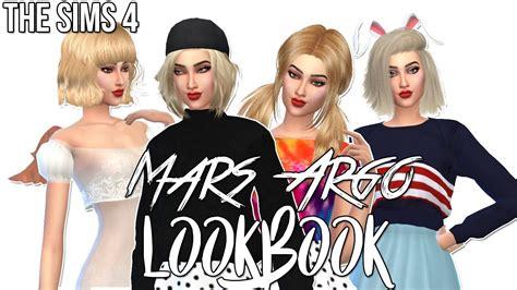 the sims 4 cas cc lookbook 5 sims community the sims 4 cas mars argo lookbook cc links ゚ youtube
